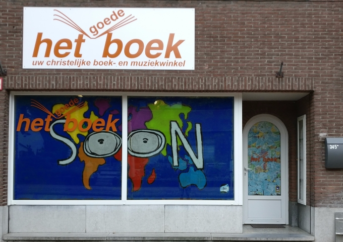 Photo of Het Goede Boek window dressing