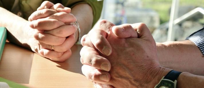 praying people