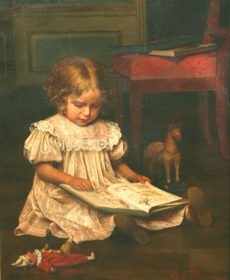 Emil_Brack_-_Girl_Reading